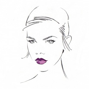 Sketch - Lipstick Applications