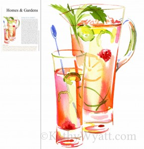HOMES & GARDENS - Summer thirst quenchers