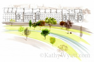 CORNWALL CRESCENT . LONDON - Architectural proposal