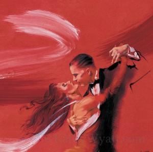 ARGENTENIAN TANGO - Art Poster