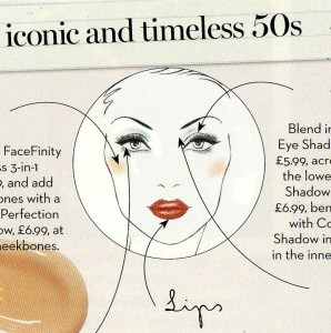 Max Factor - 50's look