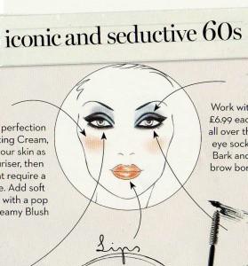 Max Factor - 60's look