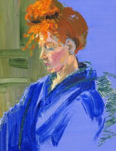JENNY - Live Portraiture / Oils