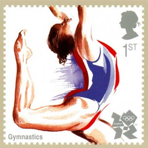 OLYMPICS STAMP - Athletics