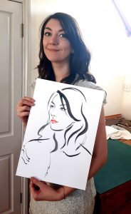 EMILY - Live Drawing