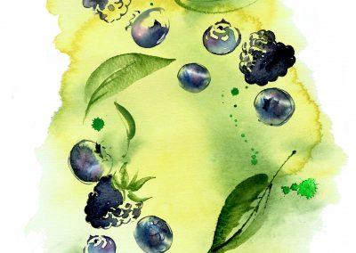 SAINSBURYS  Berry Infusion