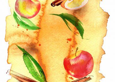 SAINSAINSBURYS - Apple & Cinnamon