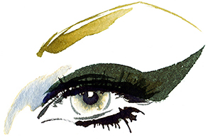 Illustration Beauty MaxFactor Cateye Cometics Liner Eyeliner