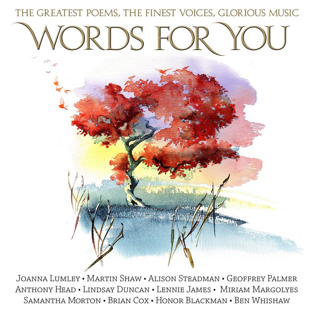 Illustration Scenic Words For You CD Printed Cover Poetry Famous Voices BBC