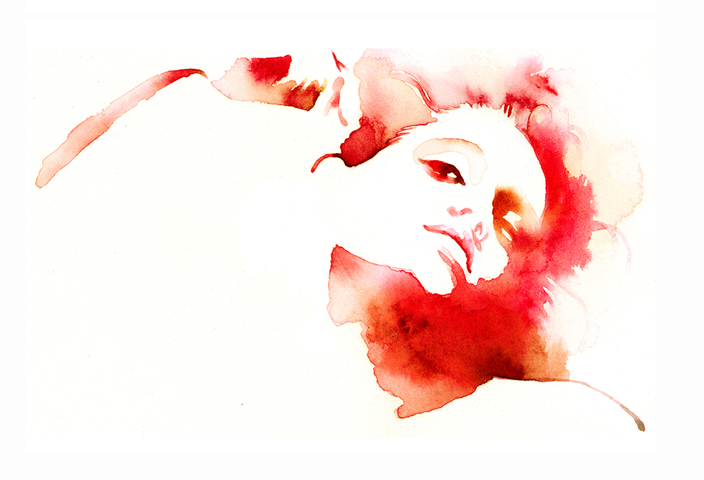Artwork All For Eve Cosmetics Watercolour Inks