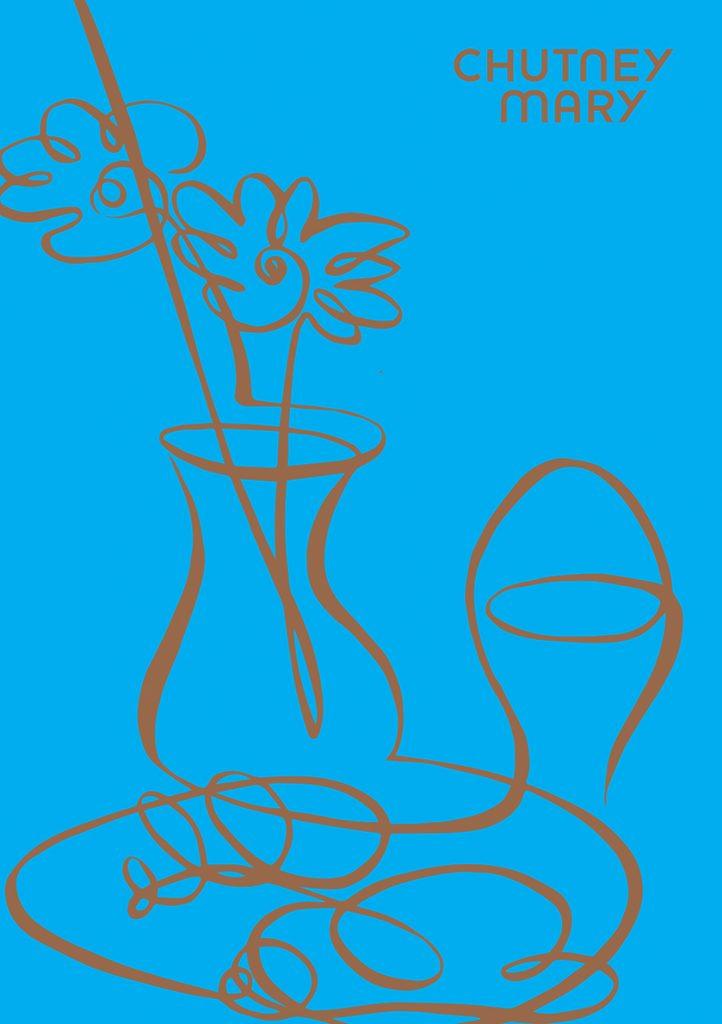 Illustration Line Chutney Mary Breakfast Menu One Single Line