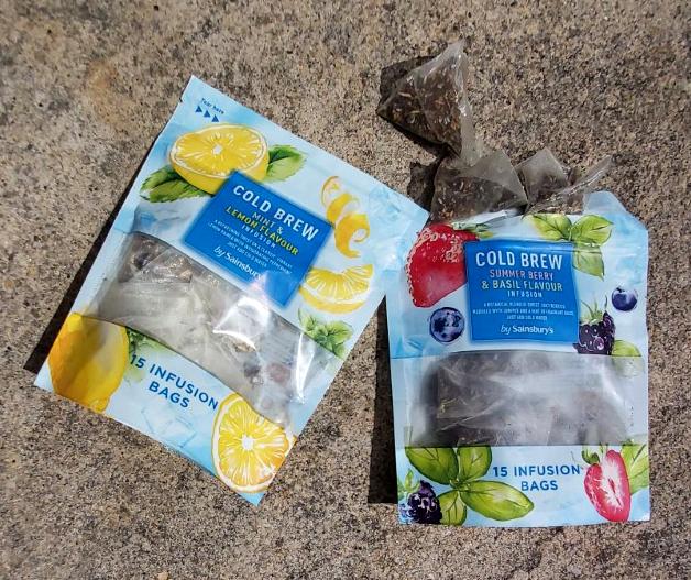 Illustration Food Drink Sainsburys Supermarket Infusion Tea Cold Brew Packaging