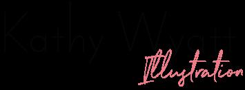 Kathy Wyatt Illustration Logo