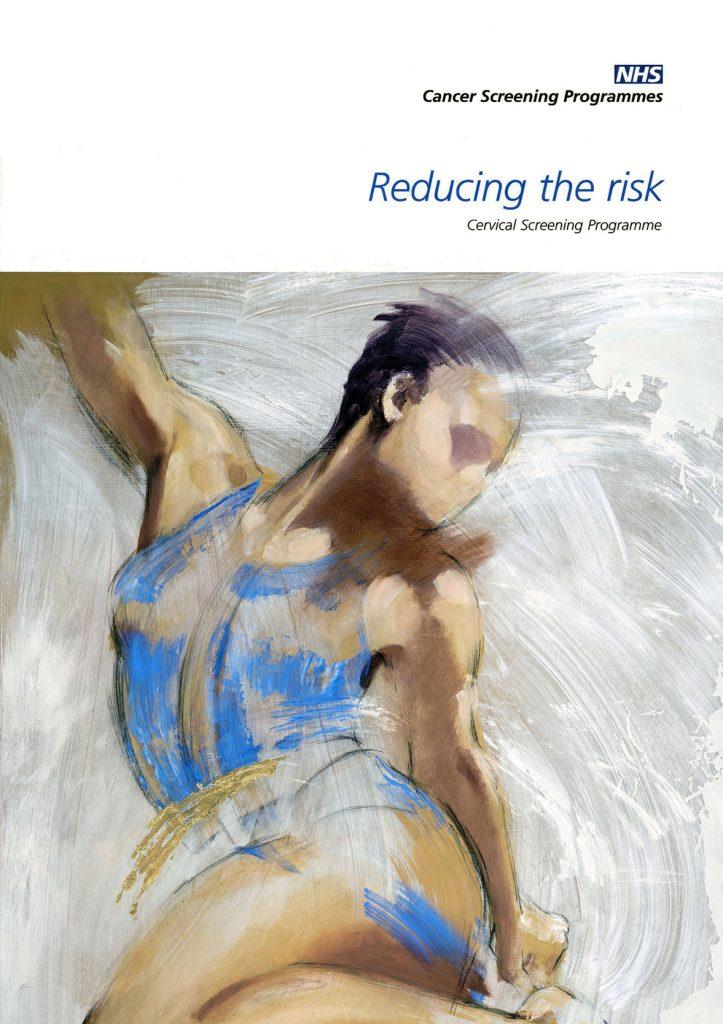 Illustration Figurative NHS Cancer Screening Progamme Educational Leaflet