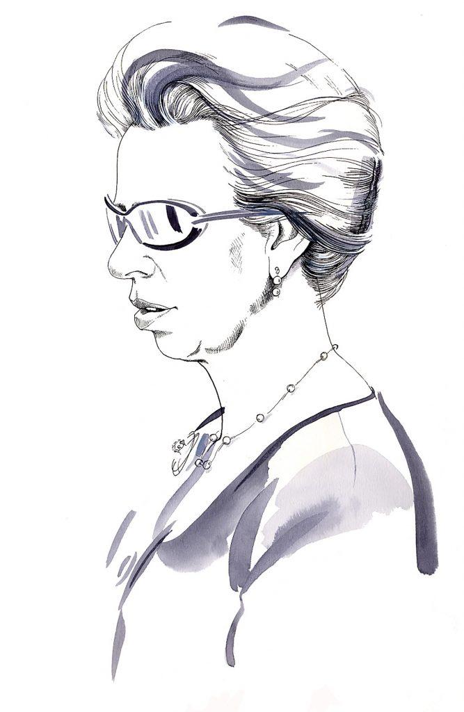 Illustration Portraits Princess Anne The Independent Newspaper