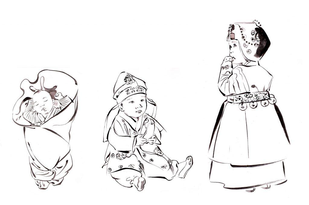 ILLUSTRATION Fashion The Beauty Of Hanbok Global Infants Mono