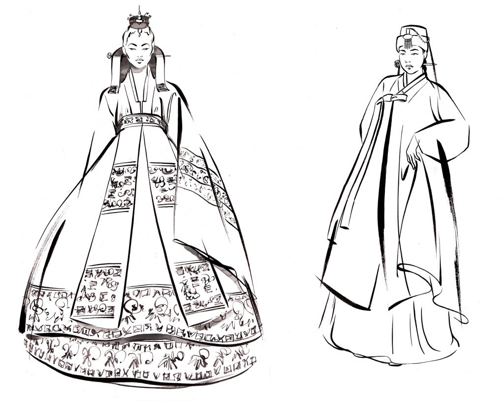 ILLUSTRATION Fashion The Beauty Of Hanbok Traditional Kinds Of Hanbok 2