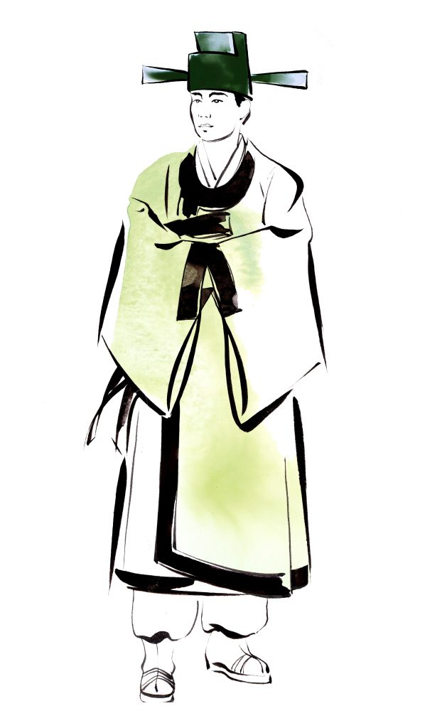 ILLUSTRATION Fashion The Beauty Of Hanbok Traditional Kinds Of Hanbok Nansham