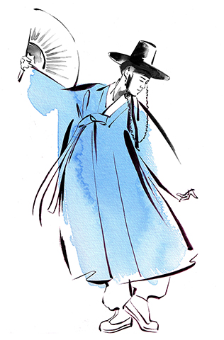 ILLUSTRATION Fashion The Beauty Of Hanbok Traditional Kinds Of Hanbok Male