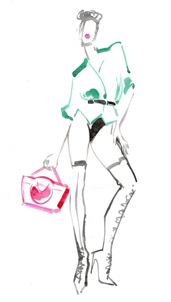 Illustration Live Event Drawing Ami Benton Creative Mix