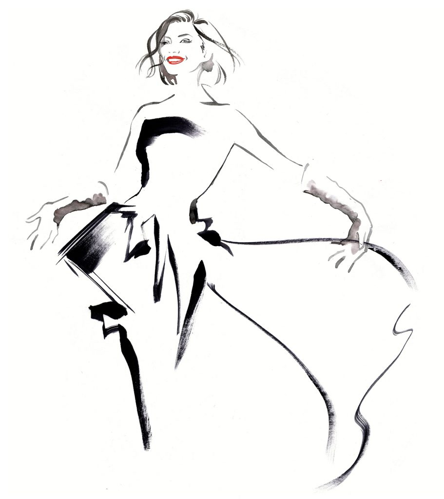Illustration Projects Chopard Handbags Cannes