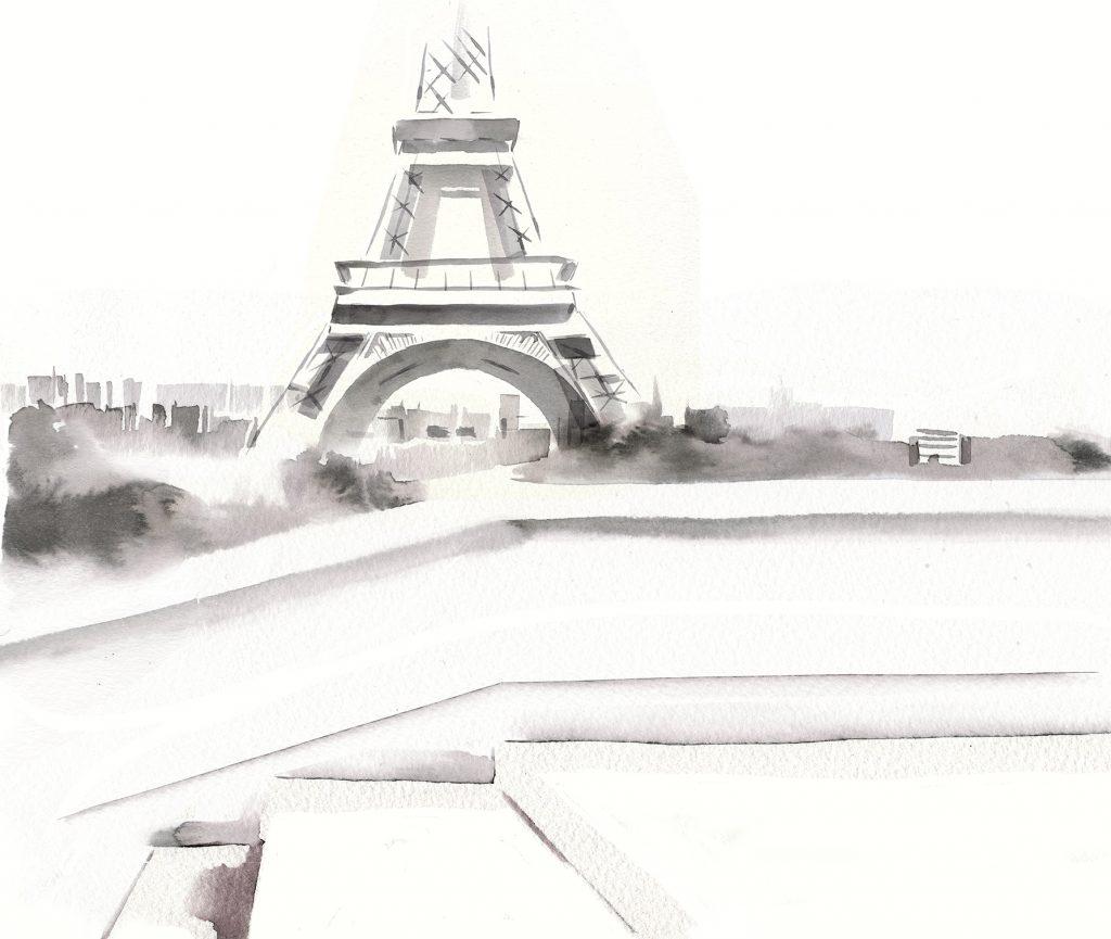 Illustration Projects Chopard Handbags Paris