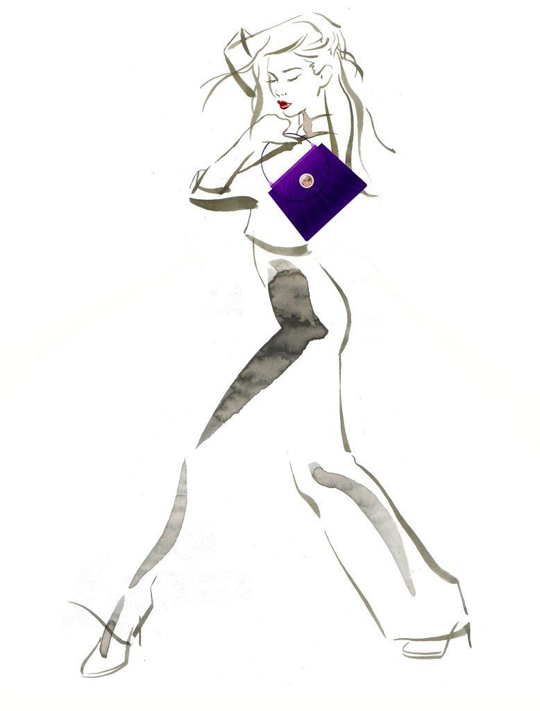 Illustration Projects Chopard Handbags Shanghai