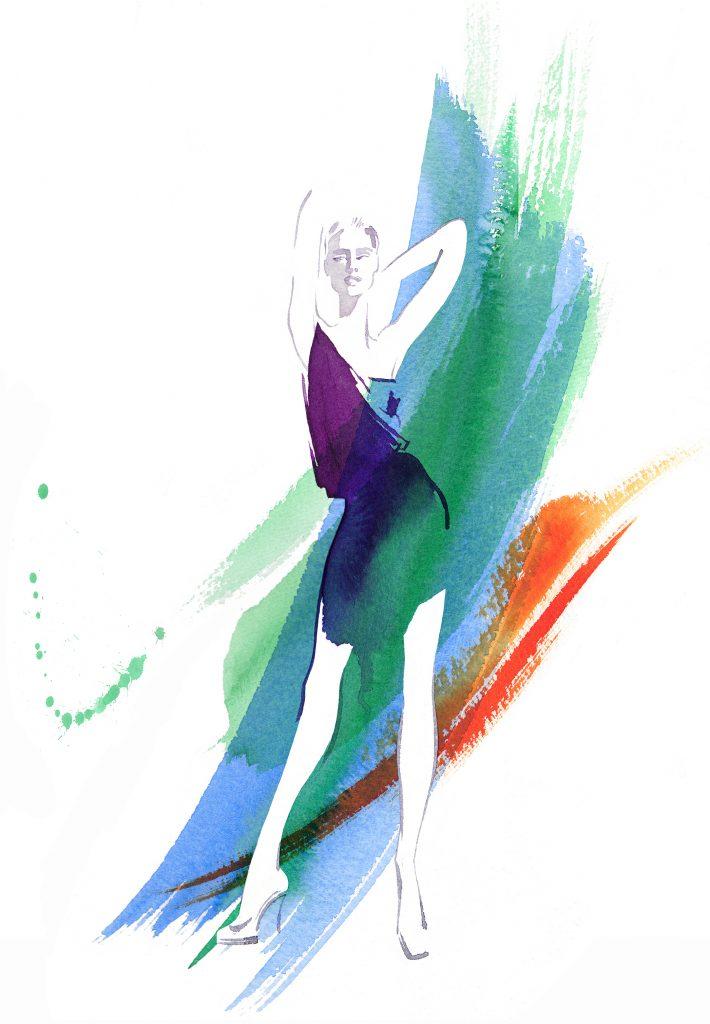 Shop Artwork Aquarelle Watercolour Style