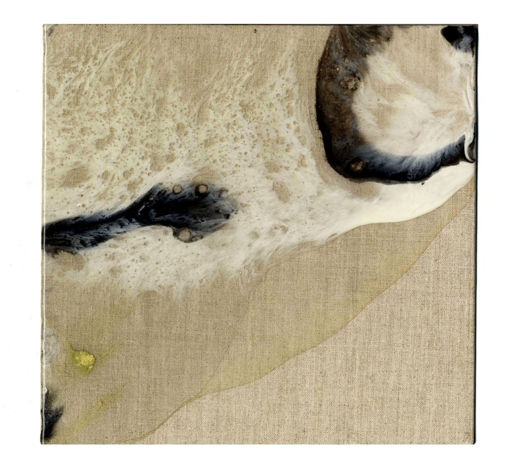 Shop Resin Works Macula Resin Pigment Linen Stretched Canvas