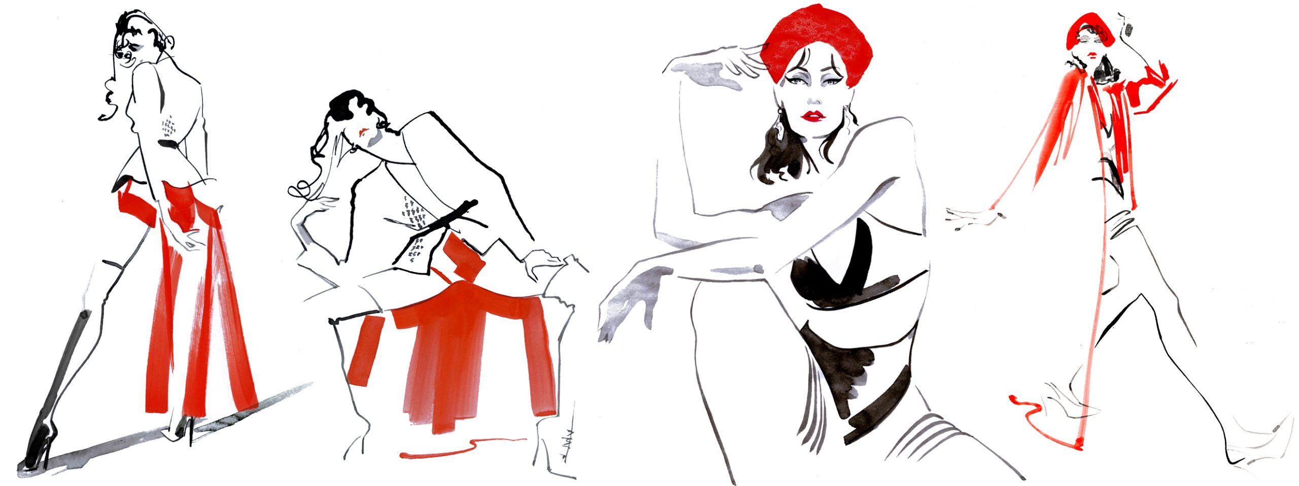 Illustration Figurative Live Drawing Ami With An Eye Header